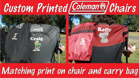 Custom Printed Camping Chairs