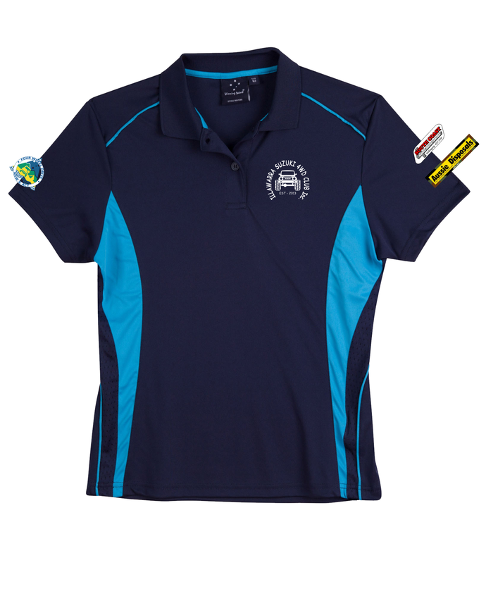Illawarra Suzuki Pursuit Polo Shirt Ladies - Clever Club Products