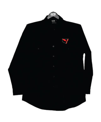 Triple Diamond Long Sleeve Work Shirt Mens - Clever Club Products