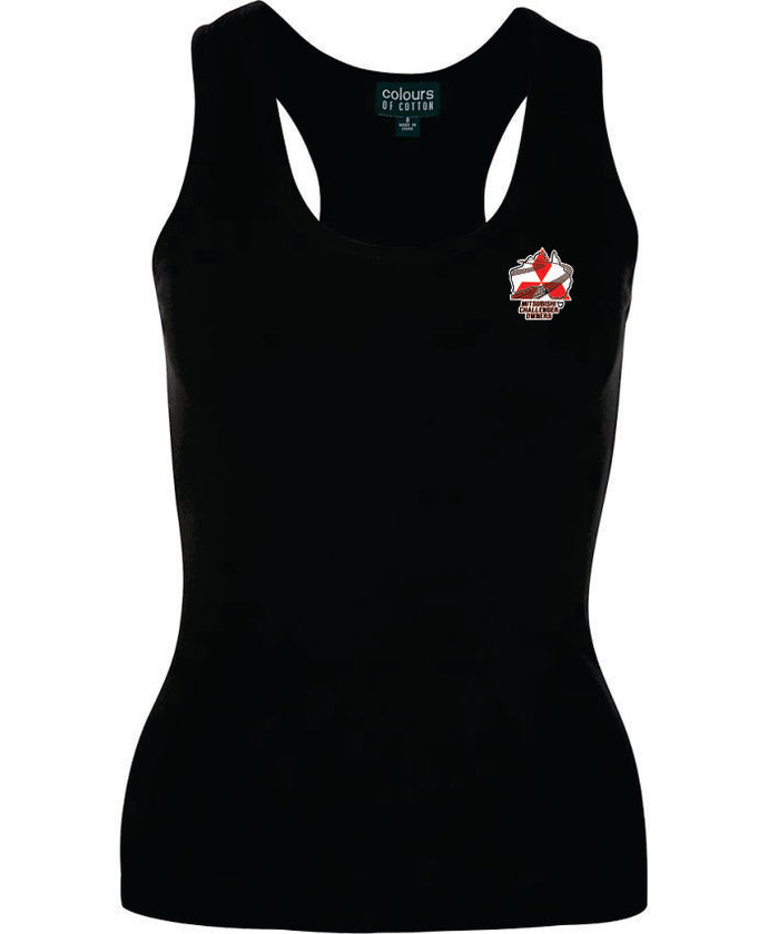 Mitsubishi Challenger Owners Ladies Singlet - Clever Club Products
