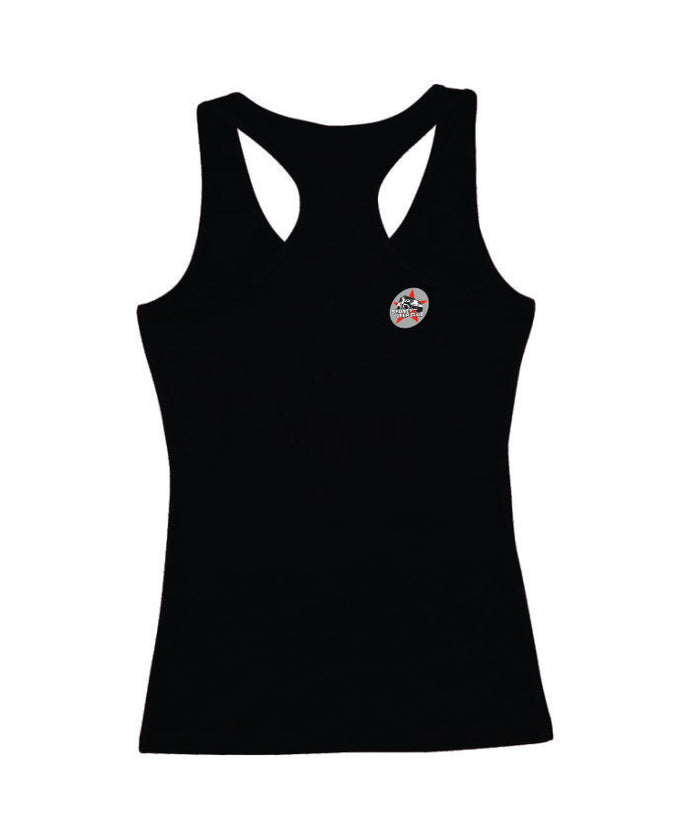 Sydney Jeep Racer back Singlet Ladies - Clever Club Products
