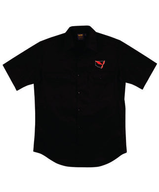 Triple Diamond Short Sleeve Work Shirt Mens - Clever Club Products