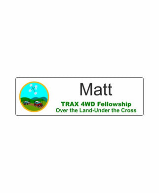 TRAX Name Badge - Clever Club Products