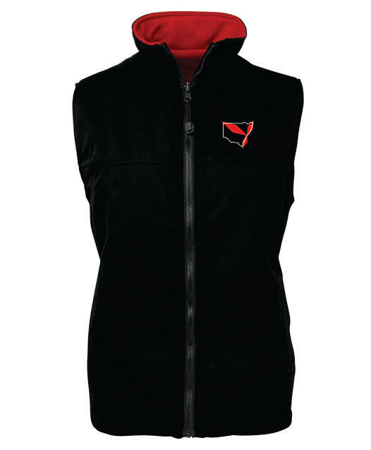 Triple Diamond Reversible Vest Adults - Clever Club Products