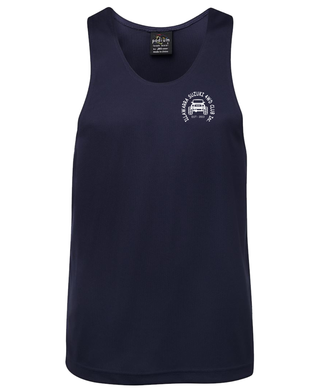 Illawarra Suzuki Poly Singlet Mens - Clever Club Products