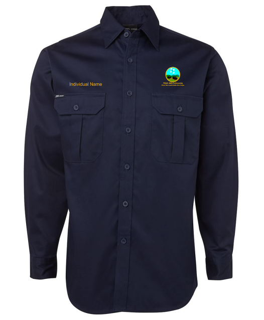 TRAX Long Sleeve Work Shirt - Clever Club Products
