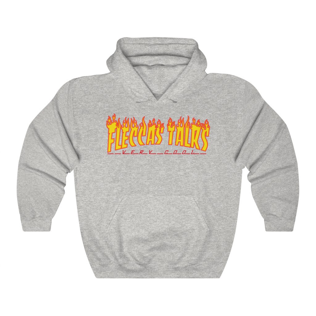 Very Cool Fire - Unisex Hooded Sweatshirt - Fleccas Talks Store