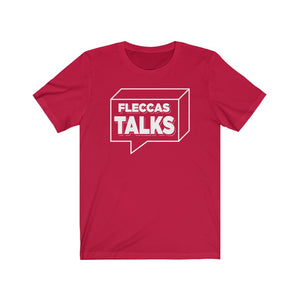 Fleccas Talks - Unisex Short Sleeve T-Shirt - Fleccas Talks Store