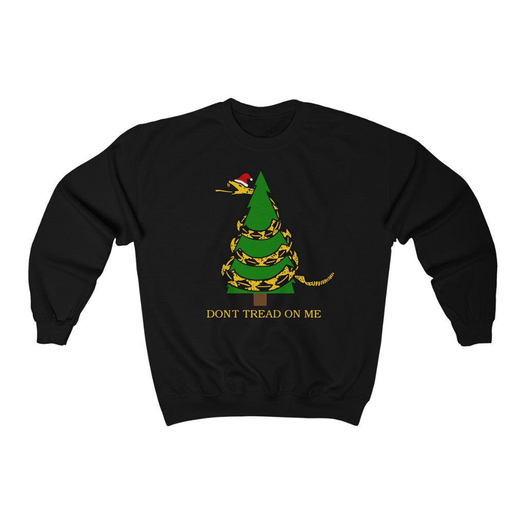 Don't Tread On Me - Unisex Crewneck Sweatshirt - Fleccas Talks Store