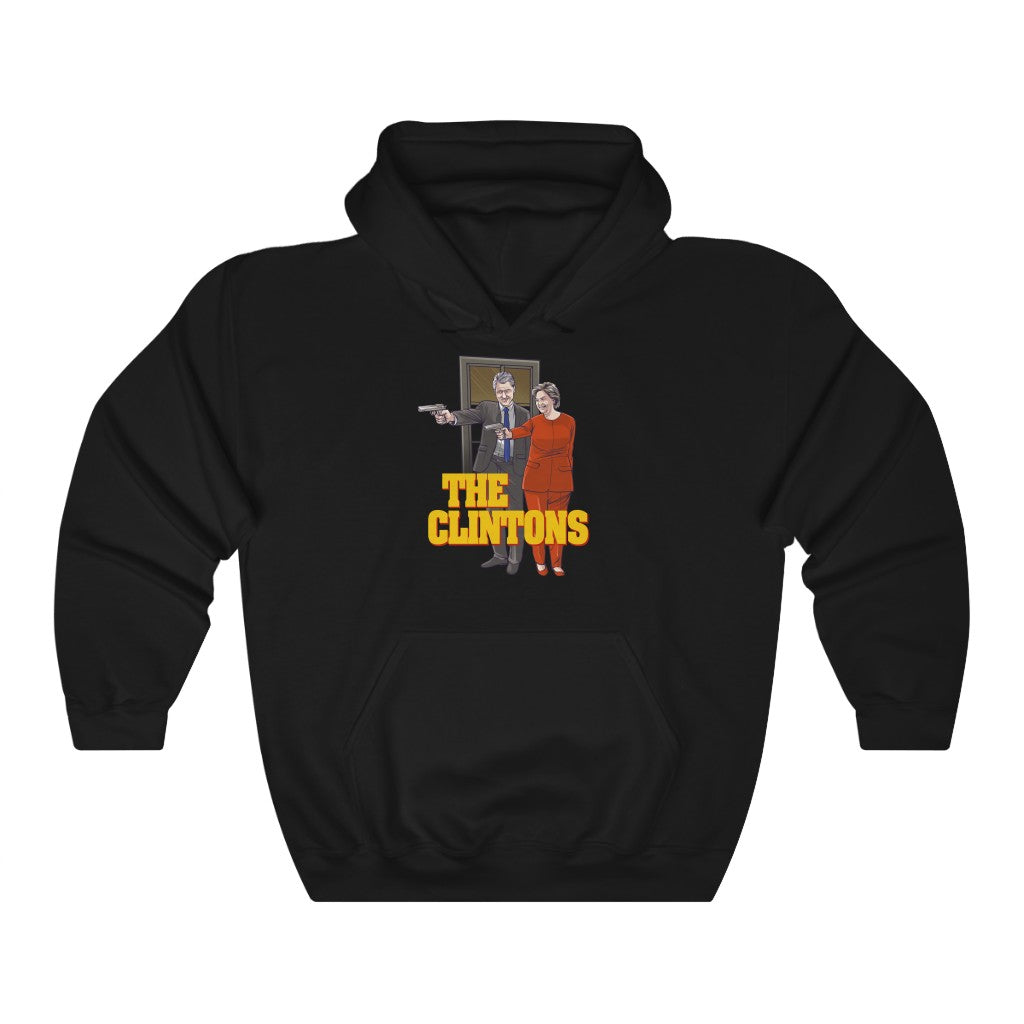 The Clintons - Unisex Hoodie - Fleccas Talks Store