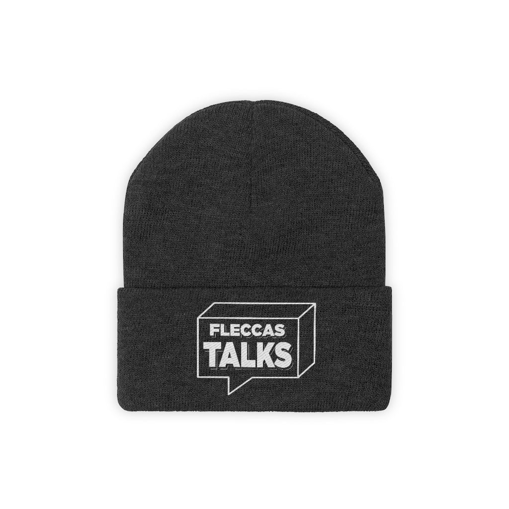 Fleccas Talks - Knit Beanie - Fleccas Talks Store