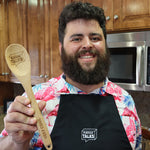 Fleccas Talks - Signature Wooden Spoon - Fleccas Talks Store
