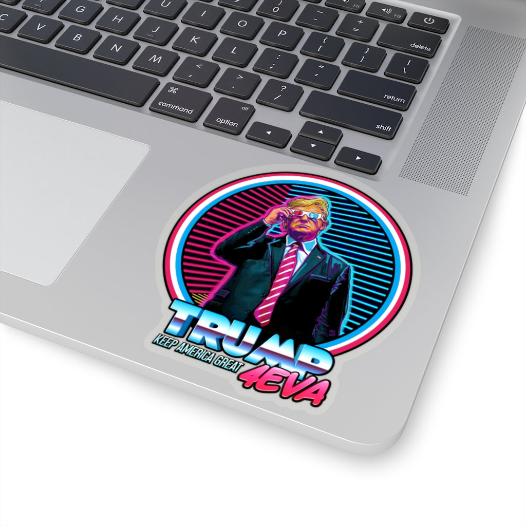 Trump KAG 4EVA - Vinyl Sticker - Fleccas Talks Store
