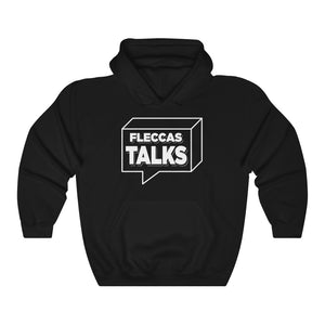 Fleccas Talks - Unisex Hooded Sweatshirt - Fleccas Talks Store