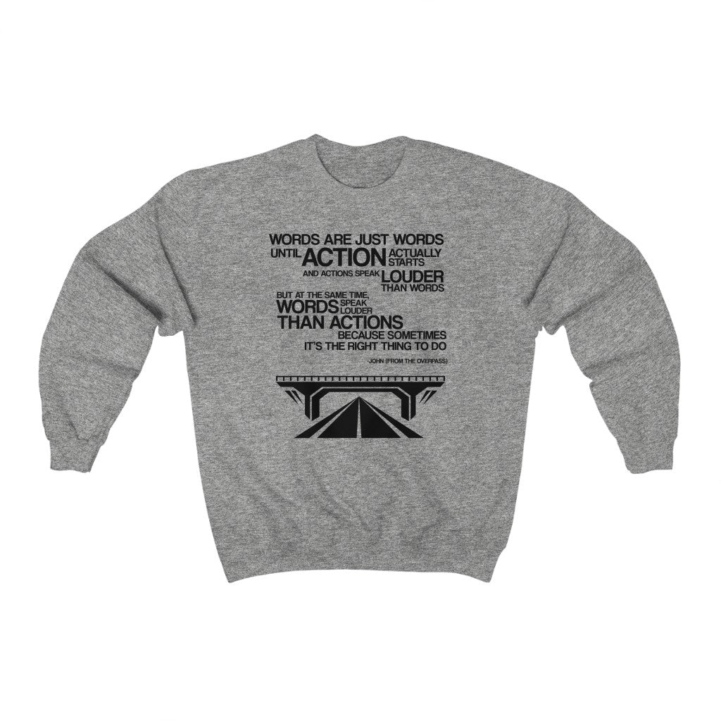 John From Overpass - Unisex Crewneck Sweatshirt - Fleccas Talks Store