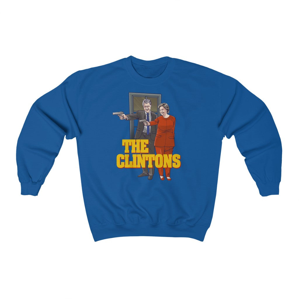The Clintons - Unisex Crewneck Sweatshirt - Fleccas Talks Store