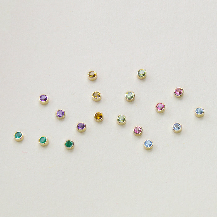 - Birthstone Earrings -