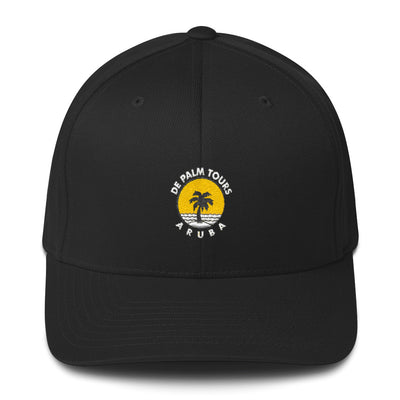 De Palm Tours Structured Twill Black Cap