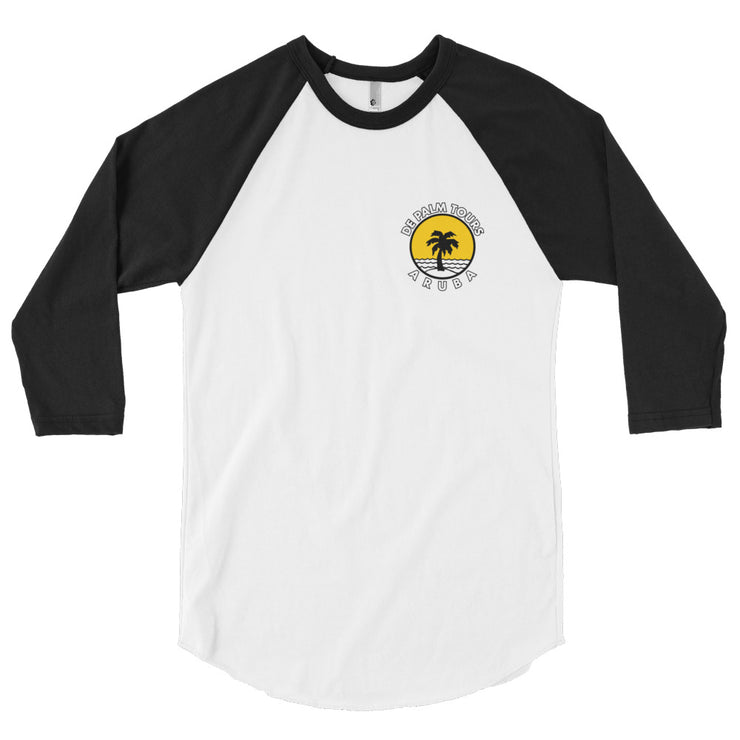 De Palm Tours 3/4 sleeve raglan shirt