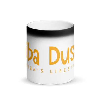 Biba Dushi Matte Black Magic Mug