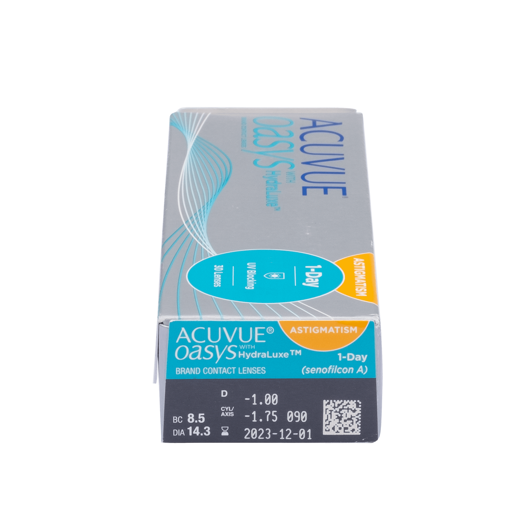 Acuvue Oasys 1-Day with Hydraluxe for Astigmatism 30pk