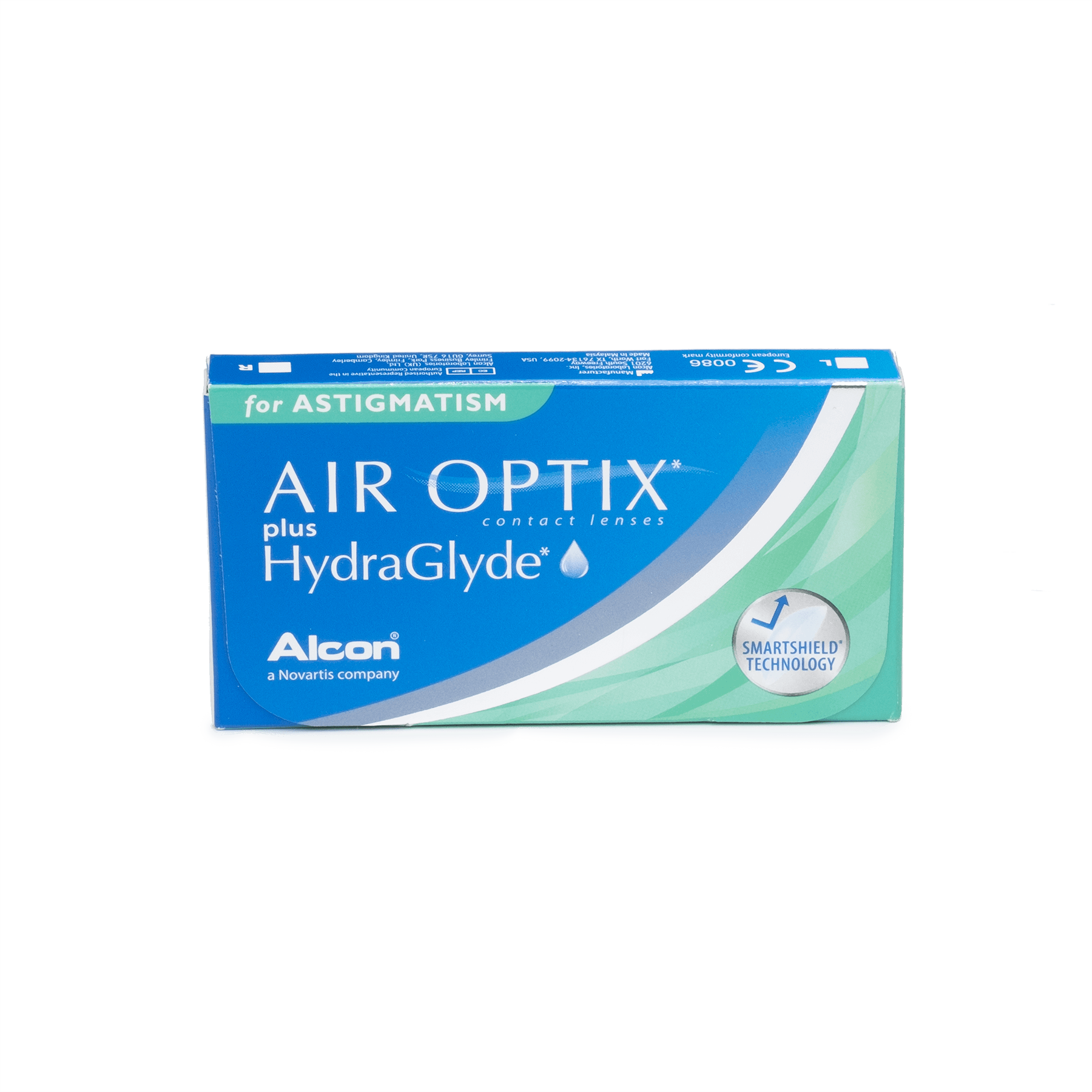 Air Optix plus Hydraglyde for Astigmatism 6pk*
