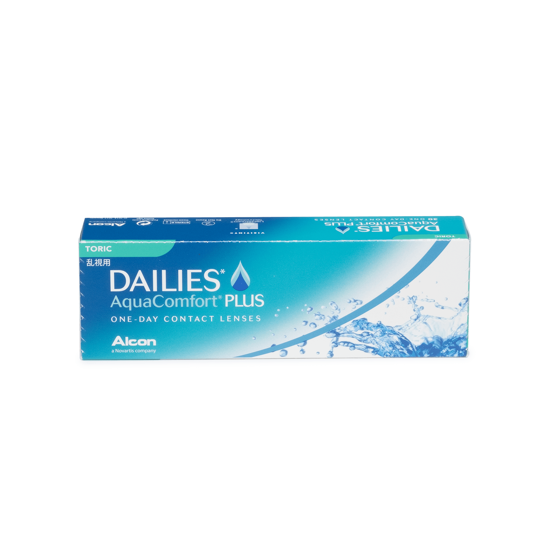 DAILIES AquaComfort Plus Toric 30pk*