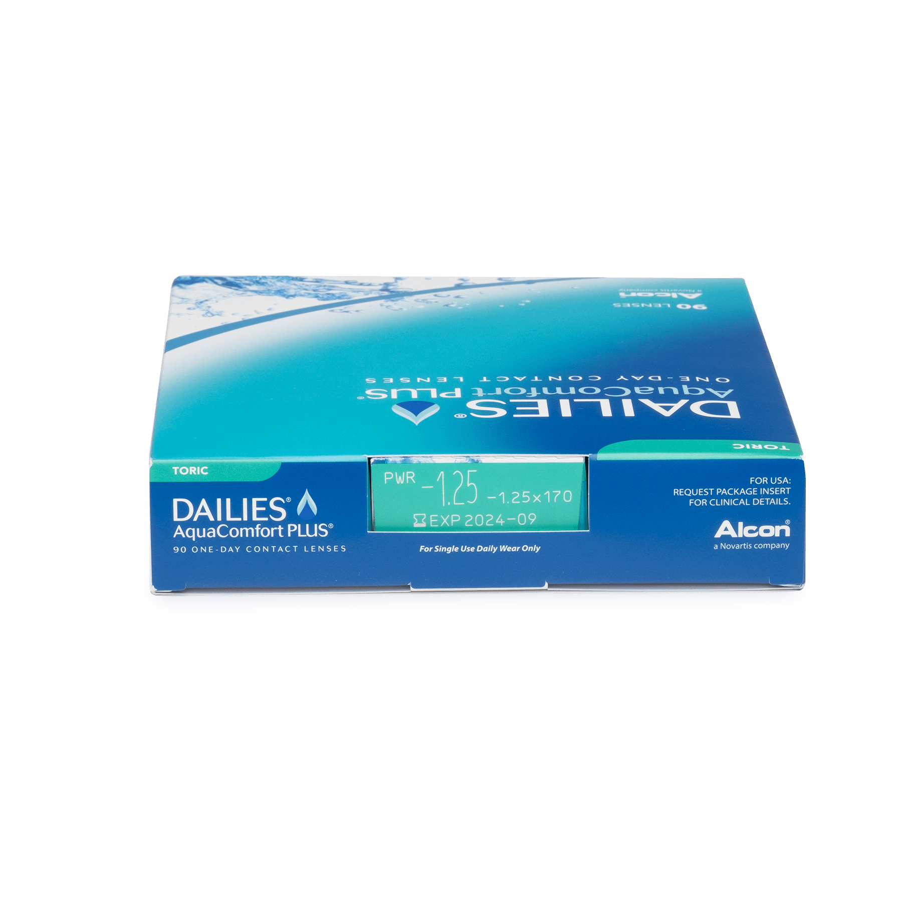 DAILIES AquaComfort Plus Toric 90pk*