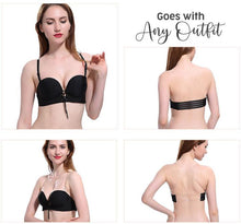 Load image into Gallery viewer, Strapless Non-slip Convertible Push Up Bra(buy 3 get free shipping)