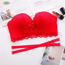 Load image into Gallery viewer, Drawstrings Push Up Lace Bra(buy 3 get free shipping)