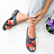 Load image into Gallery viewer, Women's Summer Floral Comfortable Sandals(buy 2 get free shipping)
