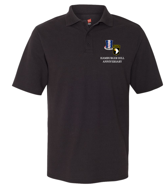 Hamburger Hill Cotton Polo