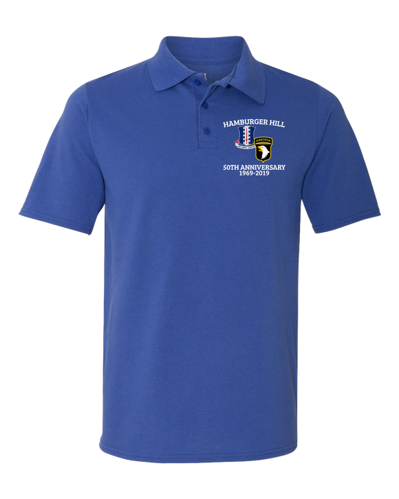 SALE: Hamburger Hill 50th polo