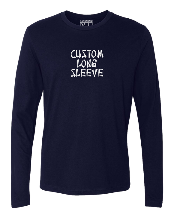 Custom Long Sleeve