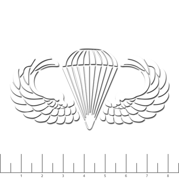 Airborne Wings Decal