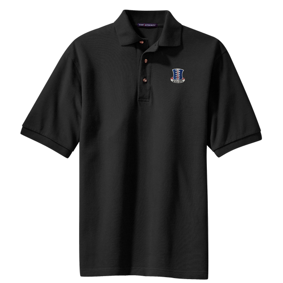 Regimental Crest Cotton Polo