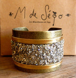 Manchette 'All about glitter'
