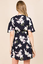 Load image into Gallery viewer, KELLY FLORAL MINI DRESS