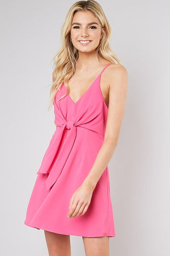 STEPHANIE FOR LOVE HOT PINK DRESS