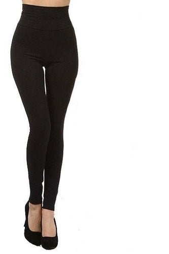SANDRA FLEECE HIGH WAIST LEGGINGS