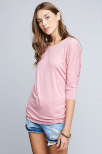 AMBER DUSTY PINK TOP