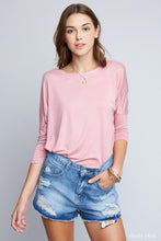 Load image into Gallery viewer, AMBER DUSTY PINK TOP