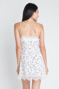 ASHLEY IVORY FLOWER & LACE DRESS