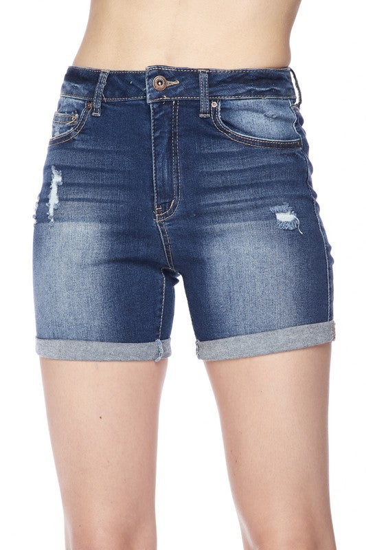 JESSIE BOHEMIAN VIBE DENIM SHORTS