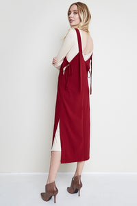 ELSIE LAYERED MAXI DRESS