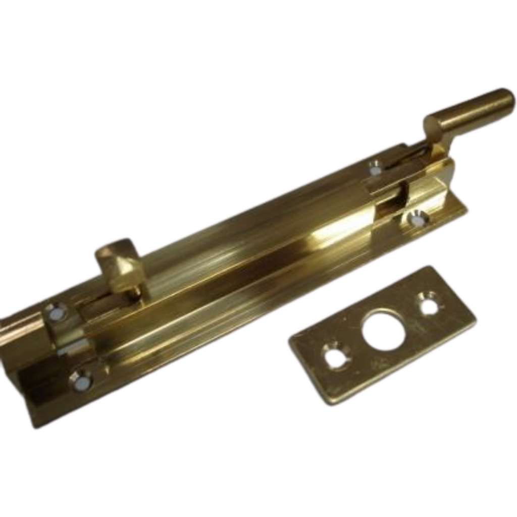 Solid Brass Necked Barrel Bolts - Decor Handles