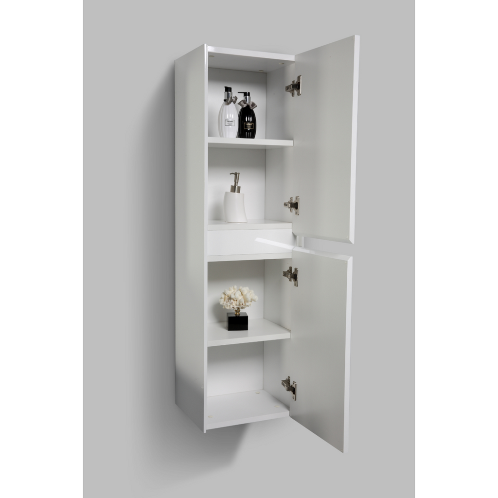 Enzo Side Cabinet 1200 White - Decor Handles
