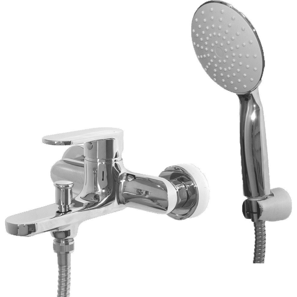 Bath Mixer W/T - Decor Handles