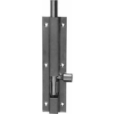 Stainless steel straight bolt - Decor Handles