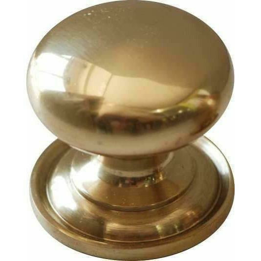 Classic Cupboard Handle - 40mm - Mushroom Knob - Decor Handles